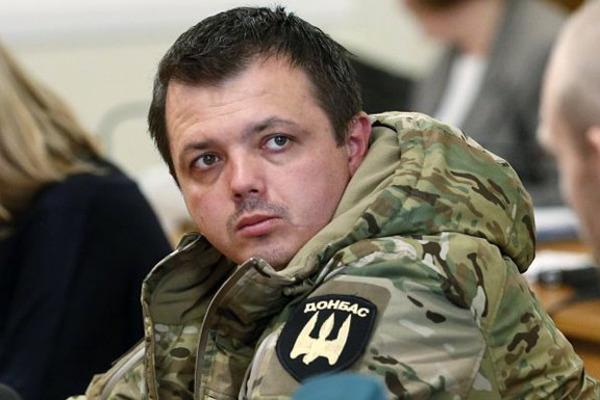 СМИ: суд повторно лишил Семенченко звания майора