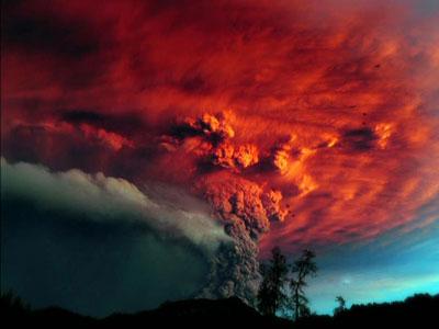 Сделаны фантастические снимки вулкана в Чили (фото) 986100_400_300_source