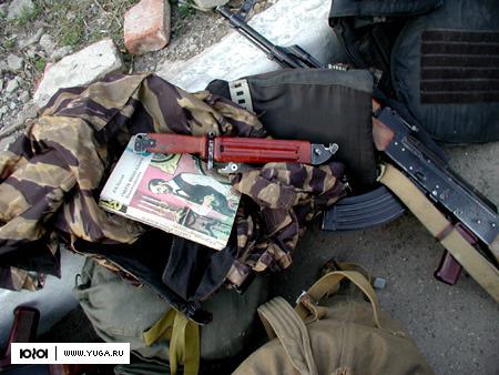 В Кабардино-Балкарии взорвали блиндаж боевиков