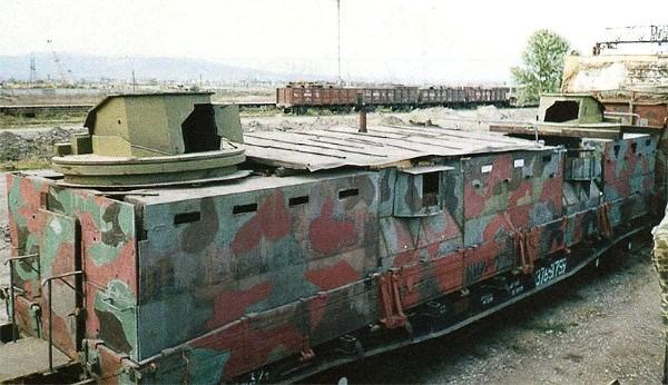 На Кавказе будет курсировать противоминный бронепоезд «Козьма Минин»