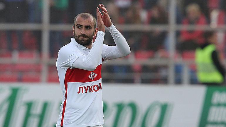 Спартак объявил об уходе армянского нападающего в Реал <span class=error>Солт</span>-<span class=error>Лейк</span>.