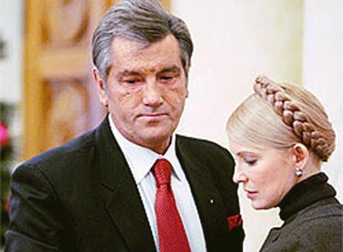 Ющенко обвинил Юлю в девальвации гривни