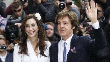 «Вегетарианская» свадьба Маккартни: экс-«битл» женился в третий раз