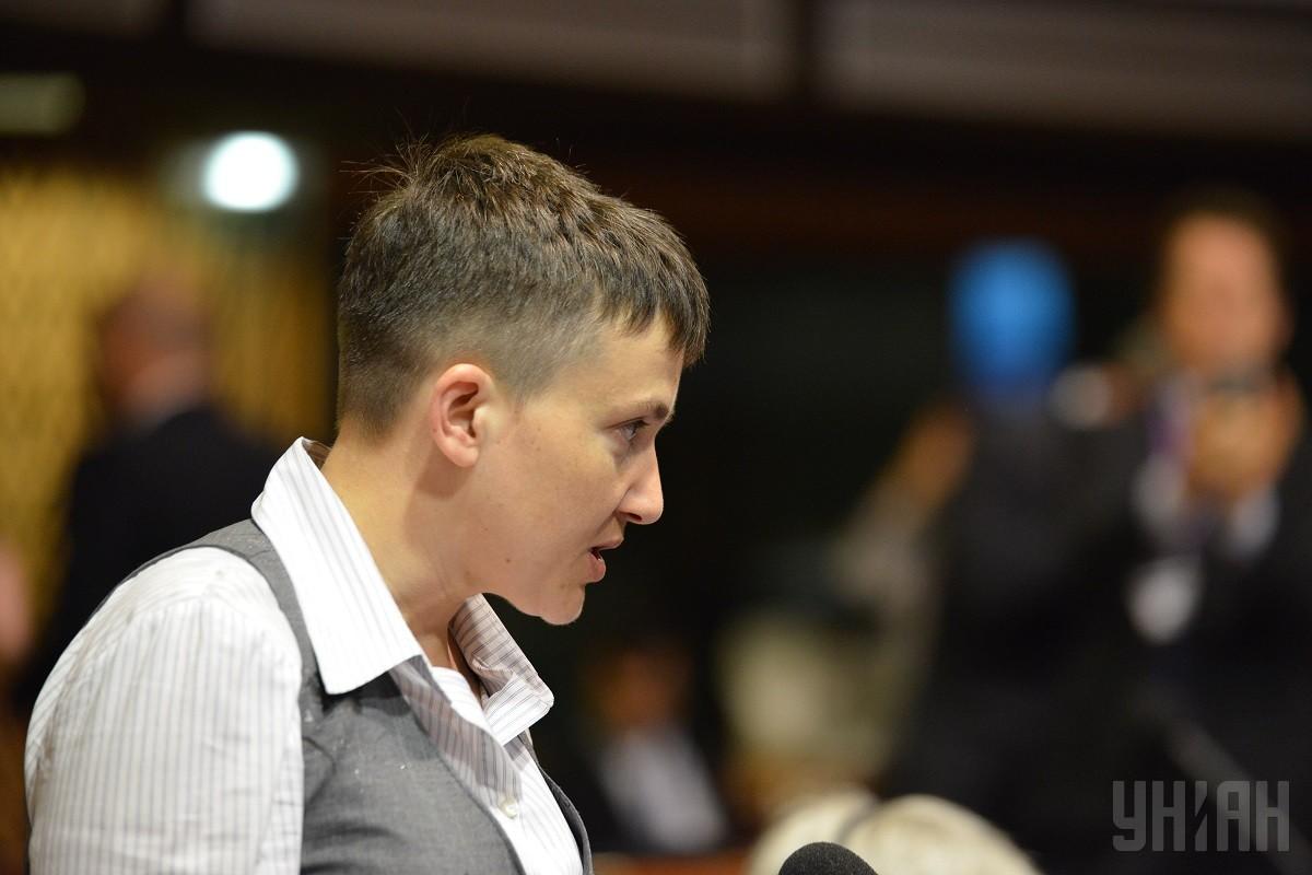 "Савченко в суде рассказала подробности захвата в плен, назвав главаря ""ЛНР"" своим похитителем"
