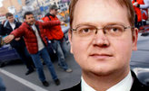 «Наши» сорвали пресс-конференцию сучастием эстонского генконсула