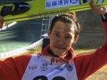 Этап Кубка мира в Алматы выиграл японский прыгун Такеучи