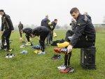 Боруссия провела тренировку перед матчем с Арсеналом в Риджентс-Парке