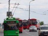 красные автобусы, Казань.