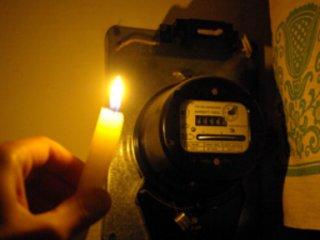 Из-за снегопада два района Новосибирска остались без света