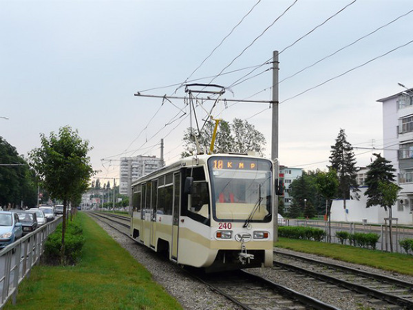 derevenka: схема движения троллейбусов 8.