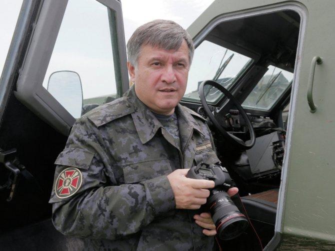 В АТО погибли 134 бойца Нацгвардии и подразделений МВД - Аваков - Происшествия - NewsUkraine