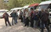 В Кишинёве бастуют водители маршрутных такси.
