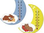 Термометр комнатный Сувенир артикул П17 Месяц предназначен для измерения температуры воздуха в диапазоне...