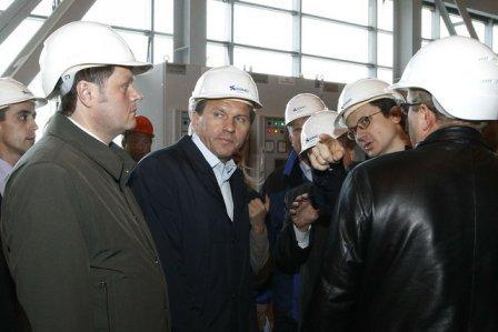 Губернатор Красноярского края инспектирует Нижнее Приангарье.