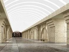 """С открытием  """"Спасской """" изменилась схема линий метрополитена.  Поезда должны."""