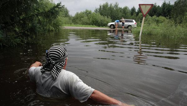 Ущерб от паводка оценивается в сотни