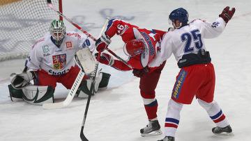 как сыграли хоккеисты с чехами 20декабря 15