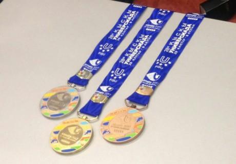 На Универсиаде будет разыграно 85 комплектов медалей в 12 видах спорта.