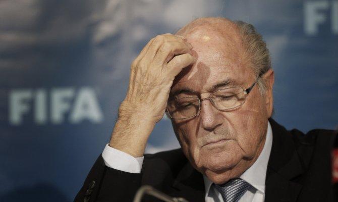 <p>Президент ФИФА Йозеф Блаттер.</p>