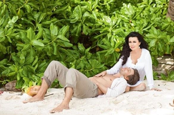 Анастасия Заворотнюк с мужем отдохнули на Сейшельских островах