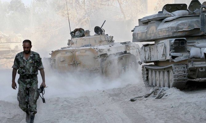 Базу ПВО в Сирии атаковала авиация Турции, а не Израиля