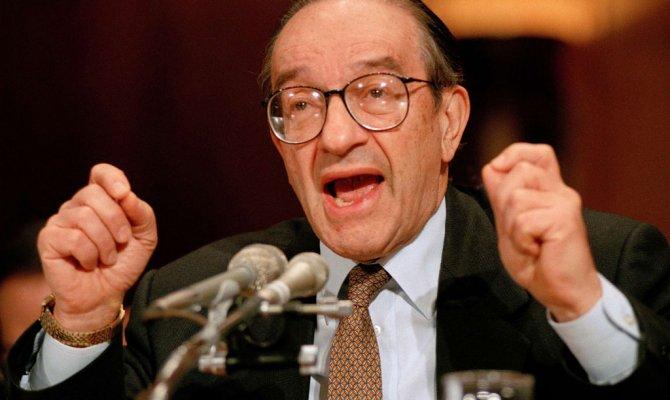 Легендарный банкир Алан Гринспэн в США считает процесс «креативного разрушения» полезным для экономики