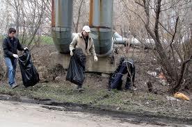 В Калининграде начинается весенняя уборка