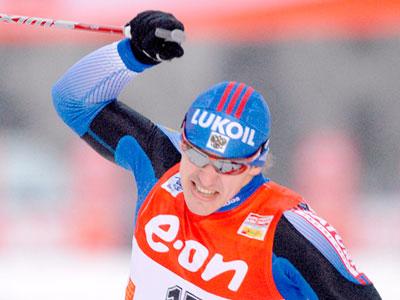 Лыжные гонки. Серебряный финиш Морилова - Фото