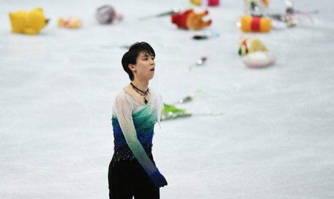 Японский бог: Ханю выиграл ЧМ и побил свой же рекорд - Фото