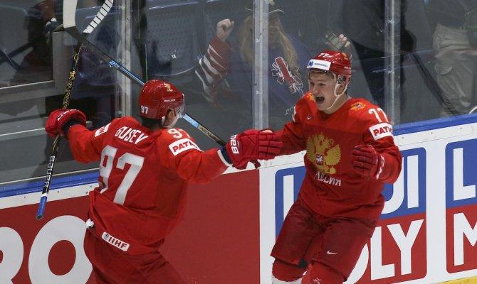 Россия обыграла США и вышла в полуфинал чемпионата мира