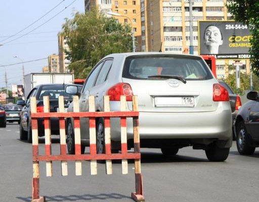 В связи со строительством двухуровневой развязки на пересечении пр.Амирхана и ул.Чистопольская, с...